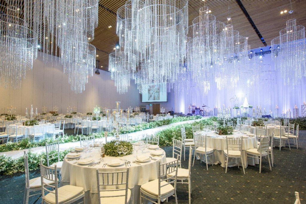 trang trí tiệc cưới gem center - 06