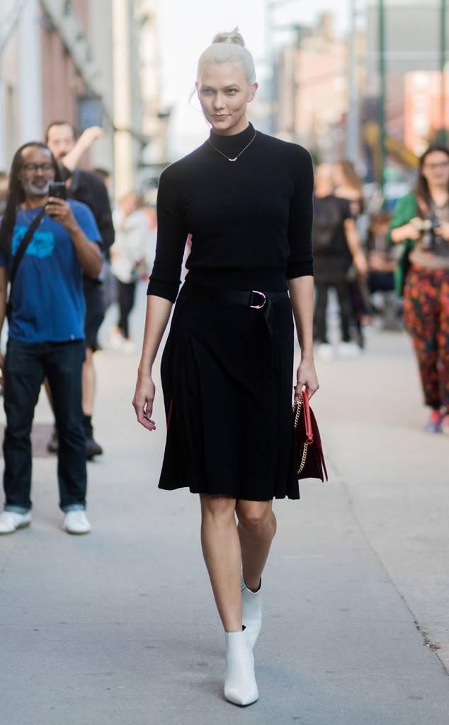 thời trang công sở Karlie Kloss