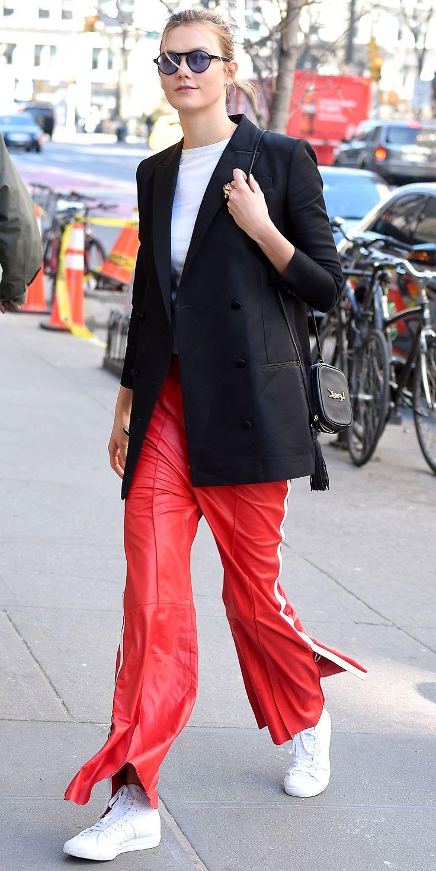 thời trang công sở Karlie Kloss 7