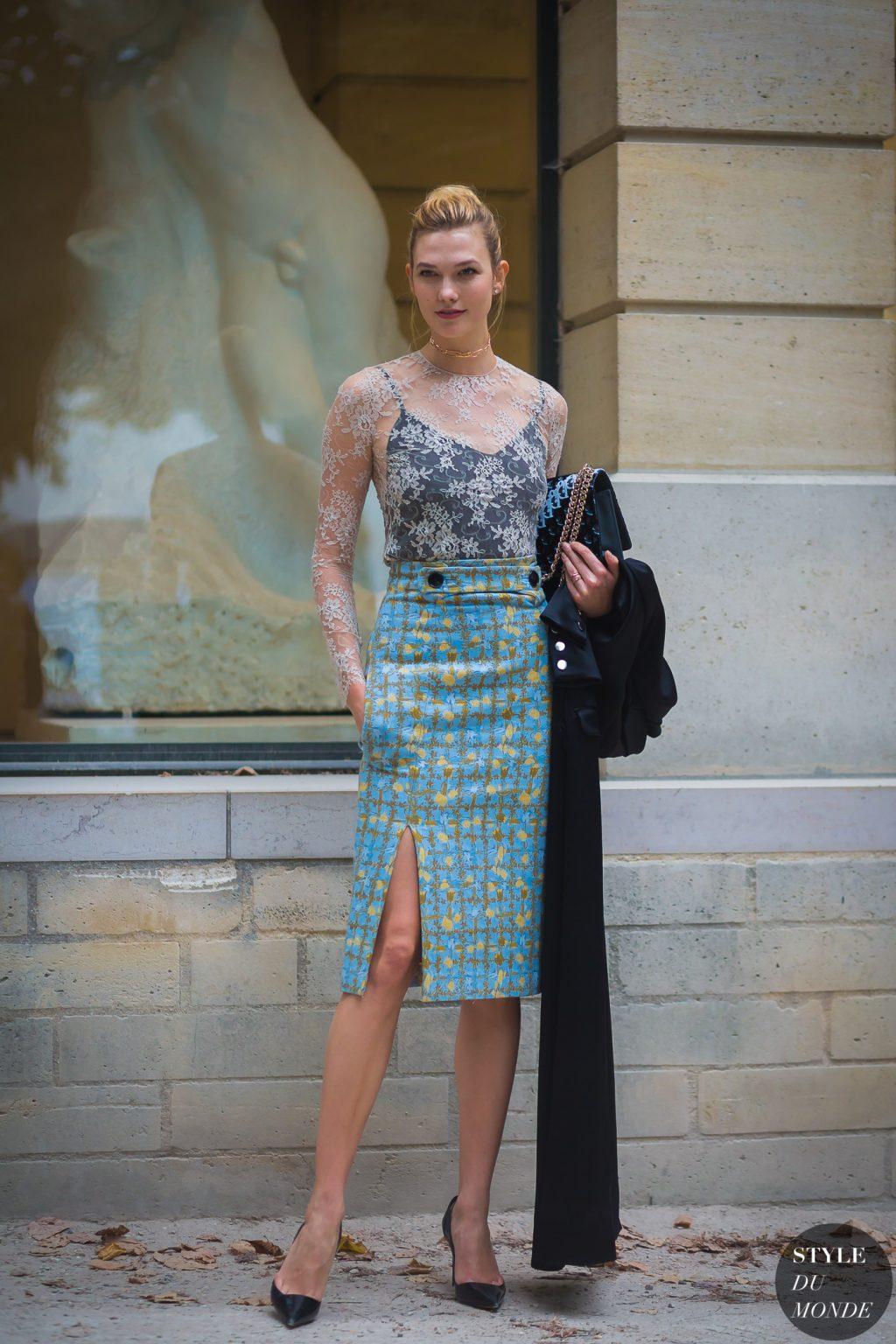 thời trang công sở Karlie Kloss 9