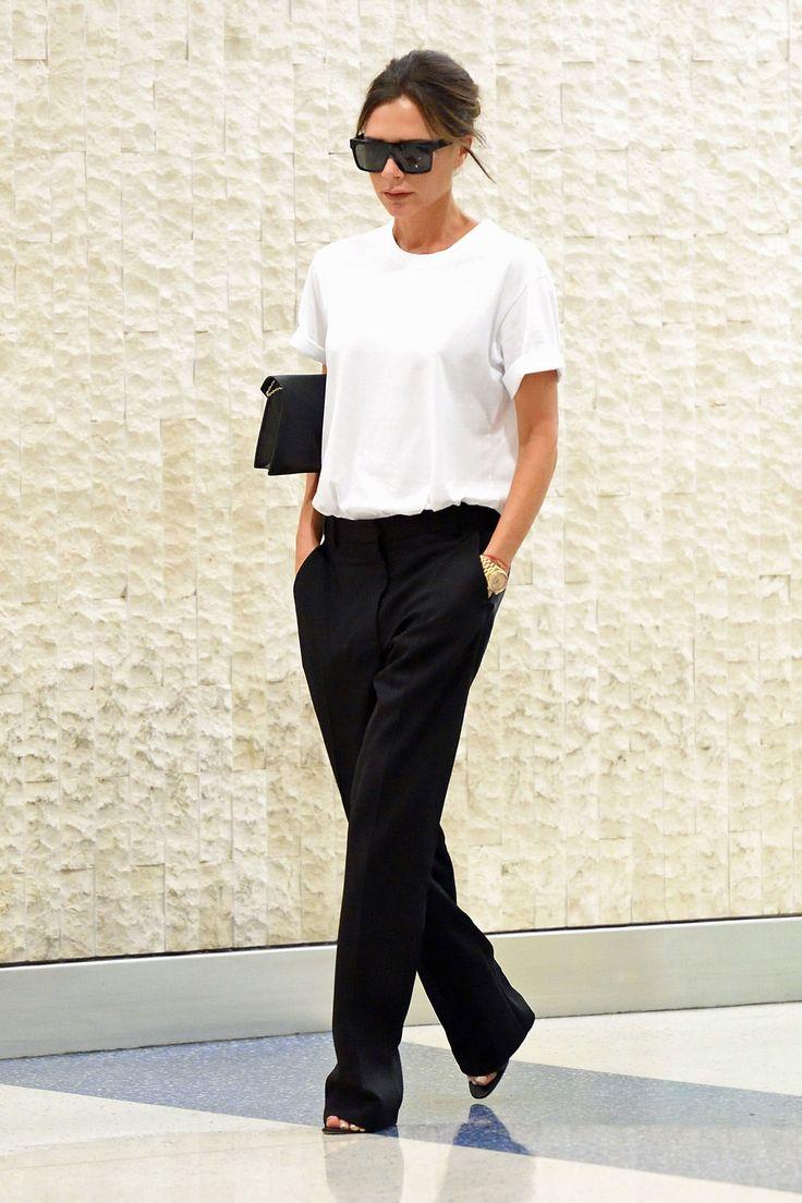 áo T-Shirt trắng Victoria Beckham 4