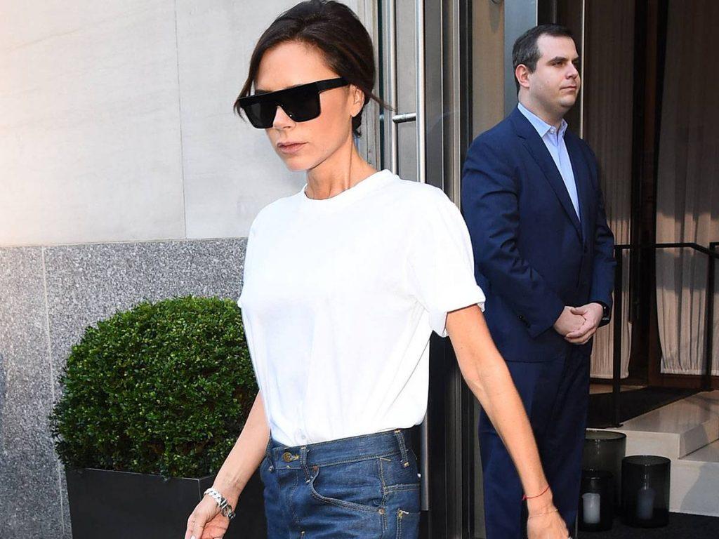 áo T-Shirt trắng Victoria Beckham 1