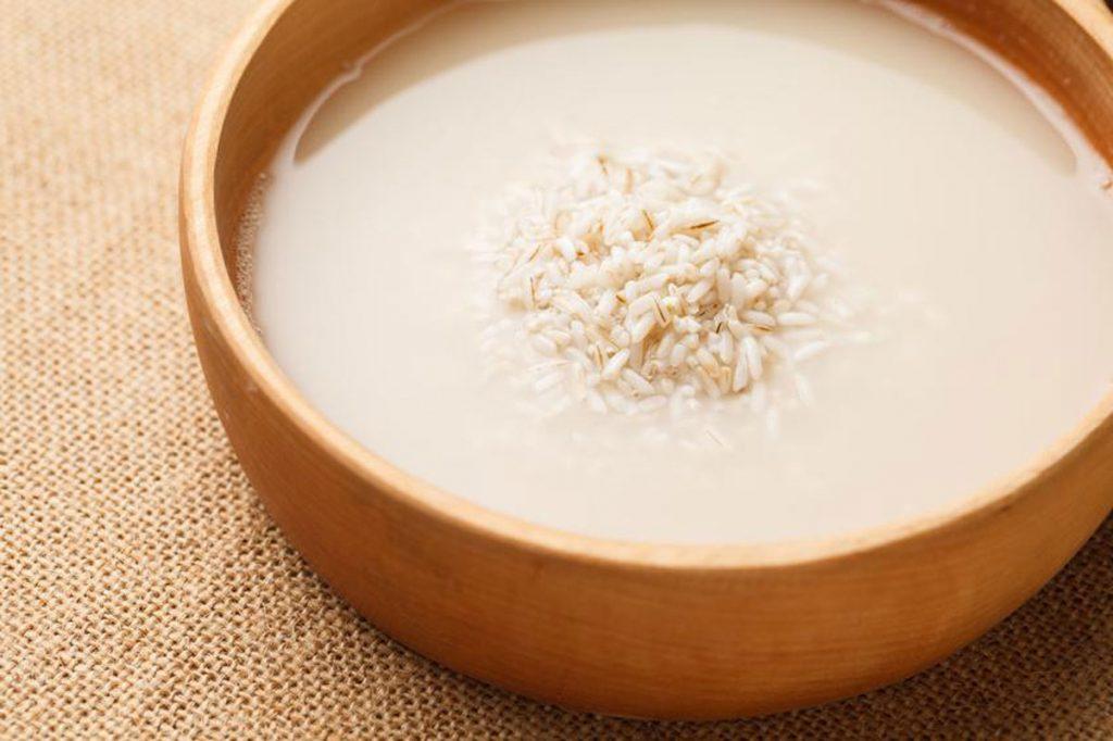 bí quyết làm đẹp nước gạo