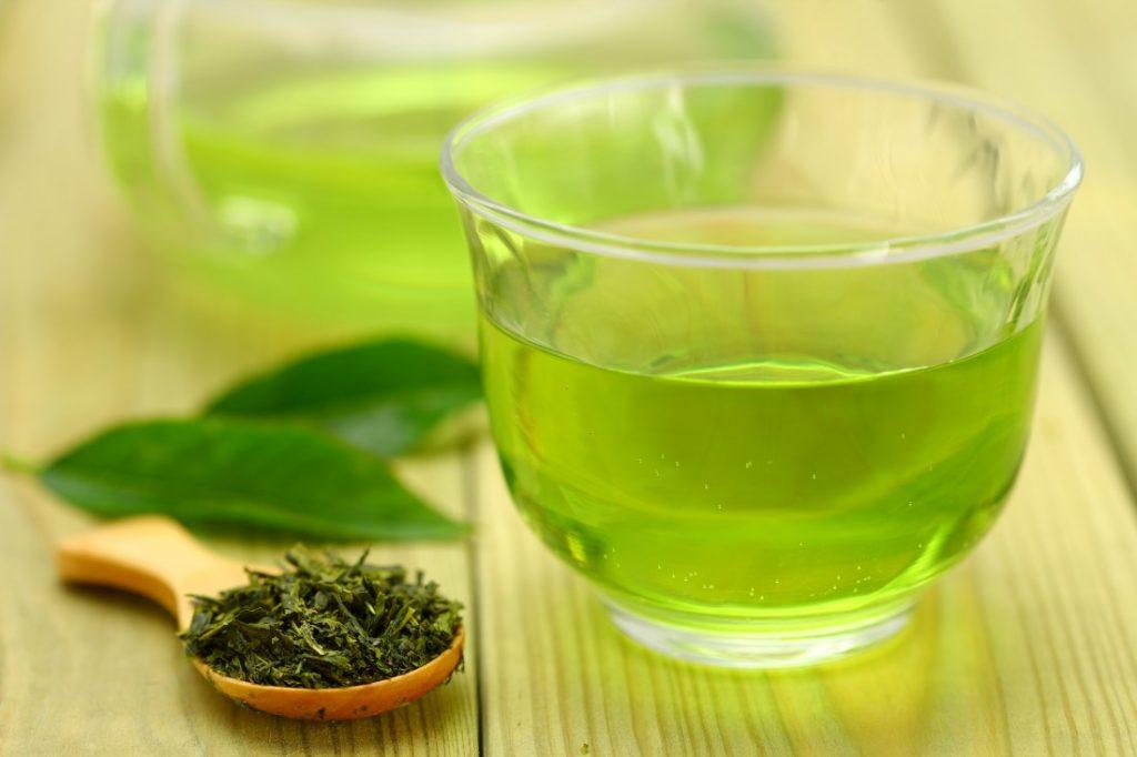 bí quyết làm đẹp trà xanh