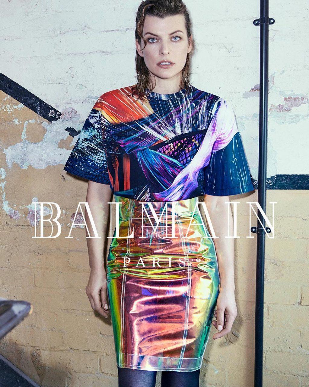 Milla Jovovich tái xuất trong bộ ảnh thời trang Balmain 1