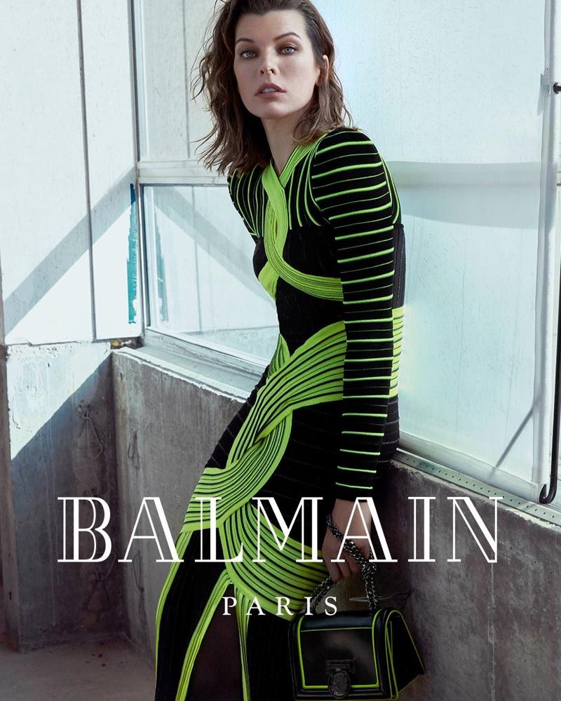 Milla Jovovich tái xuất trong bộ ảnh thời trang Balmain 3