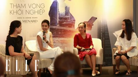 ELLE Women in Society: Khởi nghiệp là lựa chọn theo đuổi đam mê