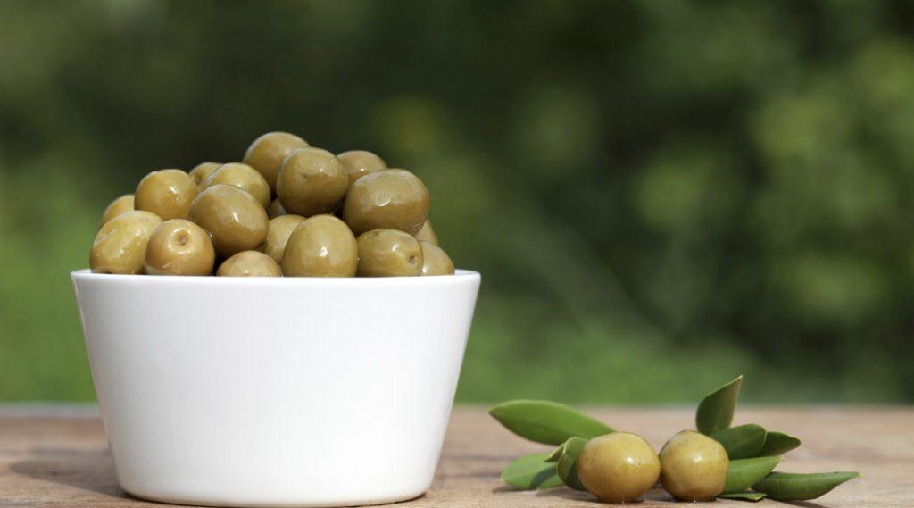 thực phẩm lên men olive