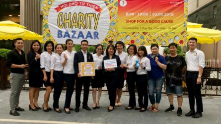 Novotel Suites Hà Nội tổ chức hội chợ từ thiện gây quỹ vì bệnh AIDS