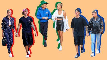 Hailey Baldwin và Justin Bieber chứng minh sự tâm giao qua thời trang cặp đôi