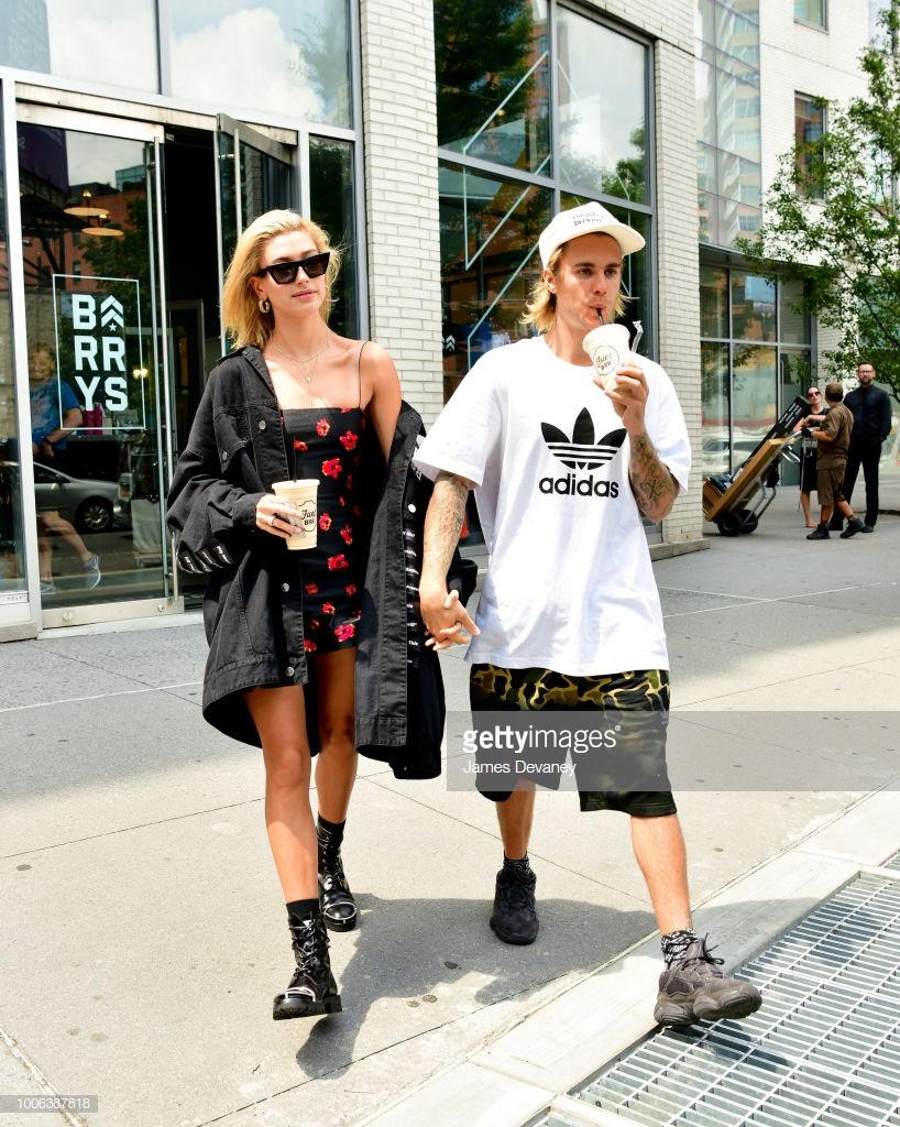 thời trang cặp đôi Justin Hailey 3