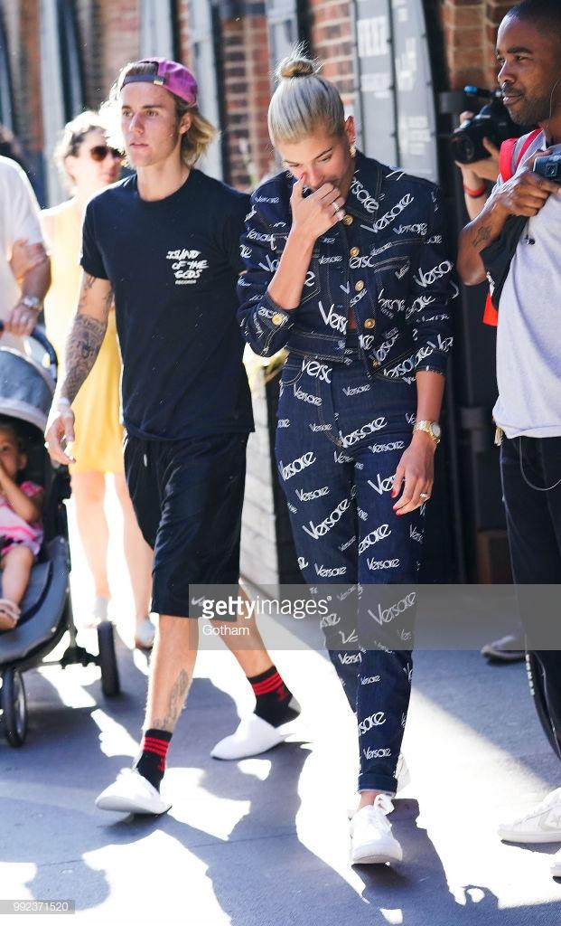 thời trang cặp đôi Justin Hailey 7