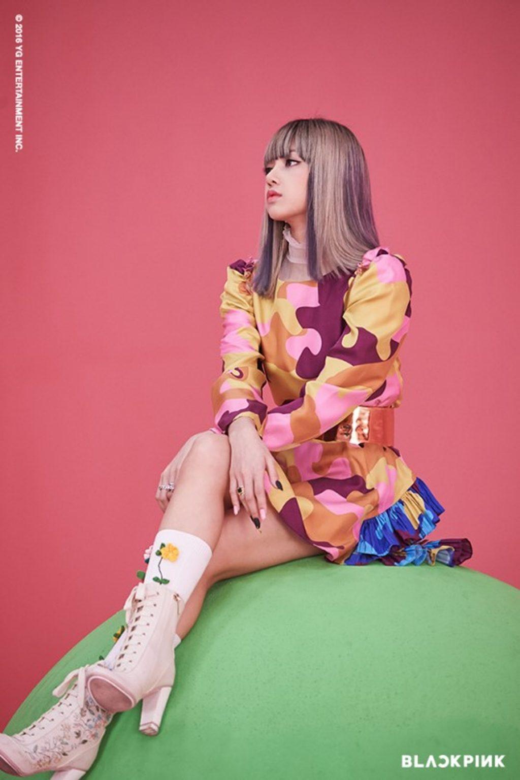 Lisa màu tóc_YESASIA