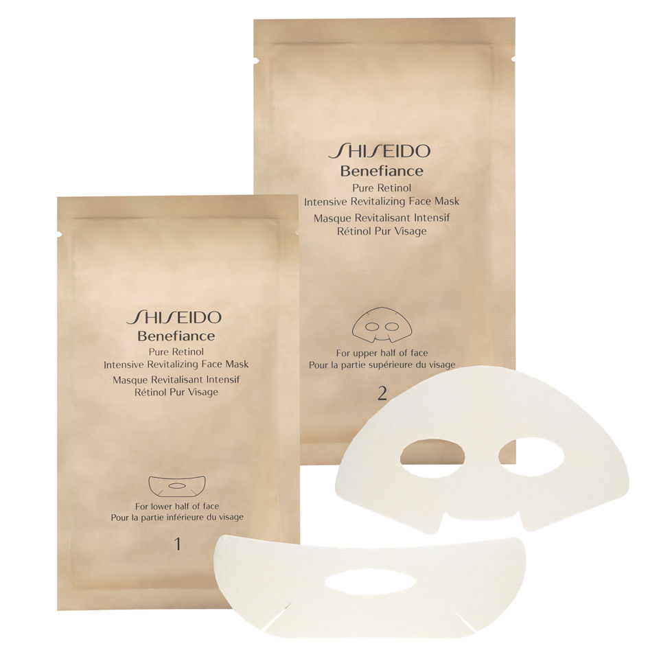 mặt nạ dưỡng da Shiseido Benefiance Pure Retinol Intensive Revitalizing Face Mask