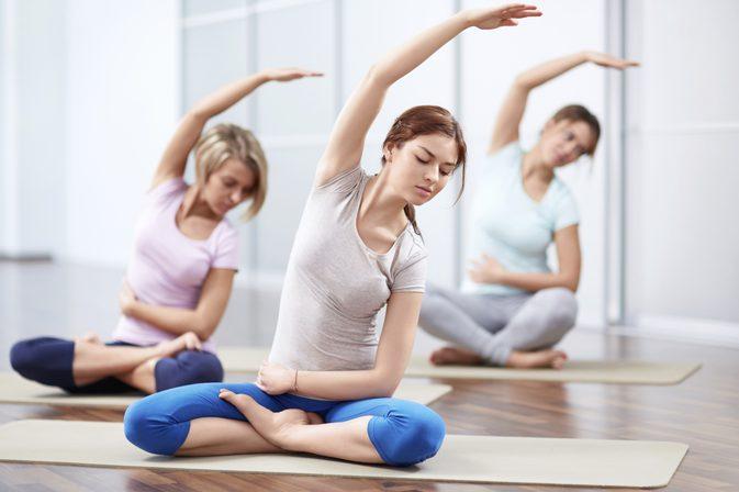 tập thể dục giảm cân yoga