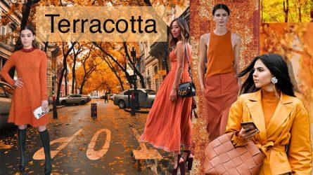 Xu hướng màu sắc Thu 2018: Cam đất Terracotta, màu của viên gạch cũ và những chiếc lá khô