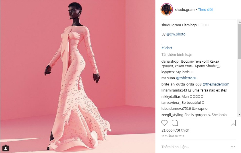 người mẫu kỹ thuật số instagram 7