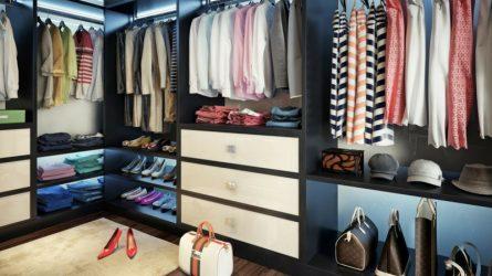 10 nguyên tắc sắp xếp để tủ quần áo