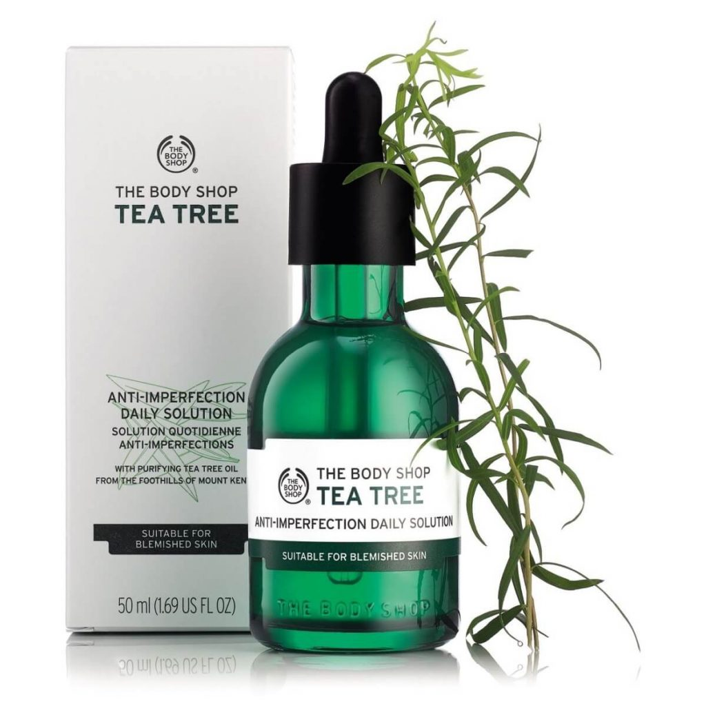 thuong hiệu mỹ phẩm bình dân_Tea Tree Anti-Imperfection Daily Solution