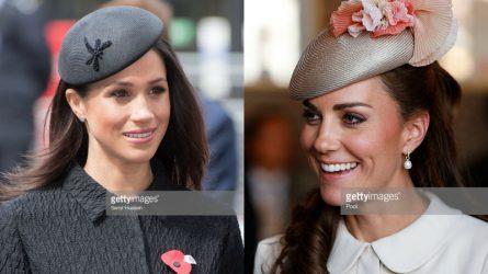 So sánh phong cách chọn mũ hoàng gia của Công nương Kate và Meghan