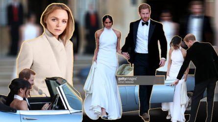 NTK Stella McCartney chia sẻ về váy cưới thứ hai của Công nương Meghan Markle