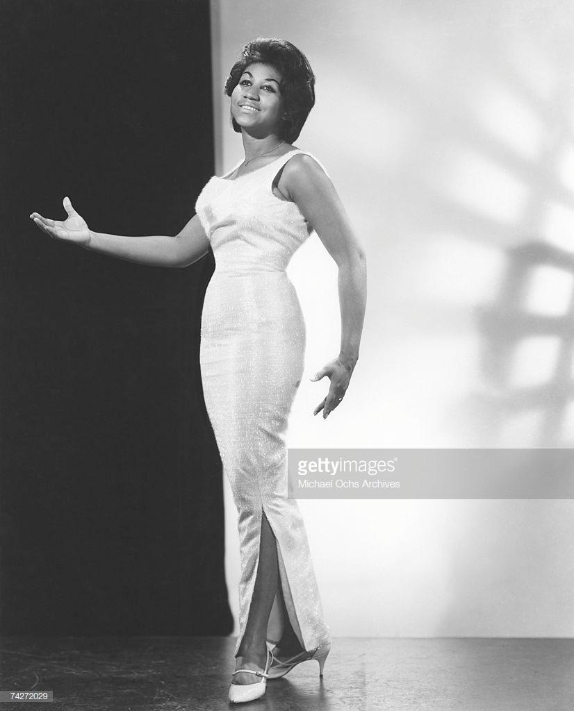 thời trang nữ quyền Aretha Franklin 1964