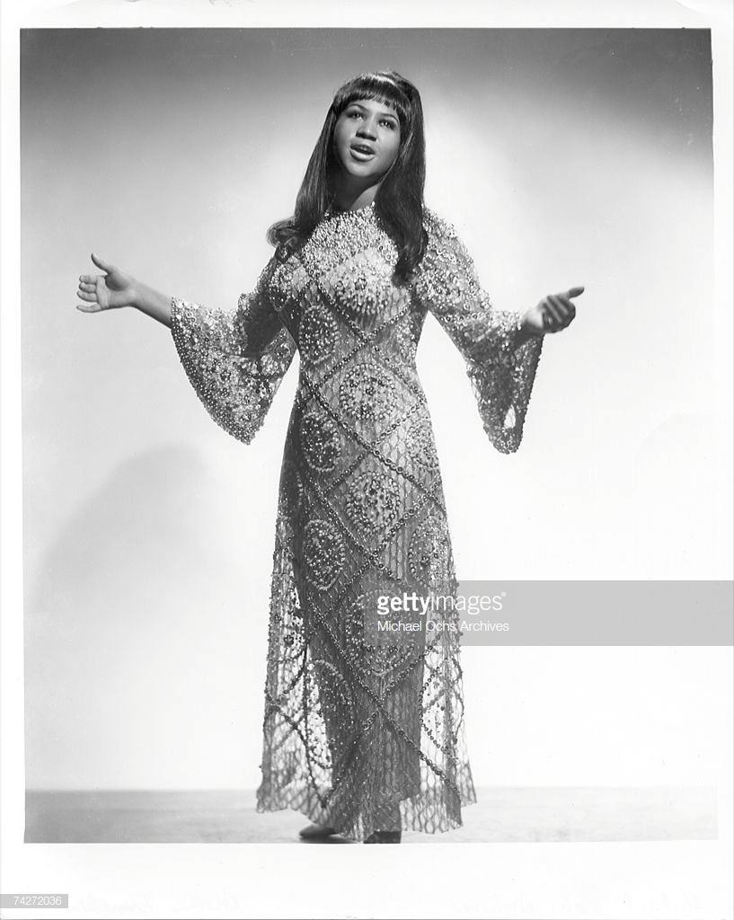 thời trang nữ quyền Aretha Franklin 1965