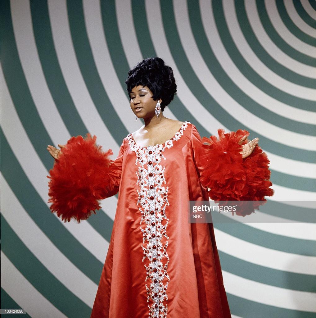 thời trang nữ quyền Aretha Franklin 1969