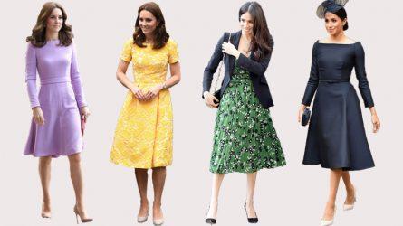 Mẹo tránh sự cố thời trang khi trời chuyển gió của các công nương hoàng gia Anh