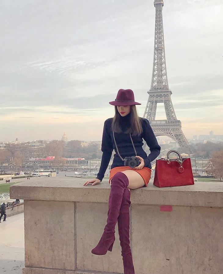 boots cao cổ Phạm Hương