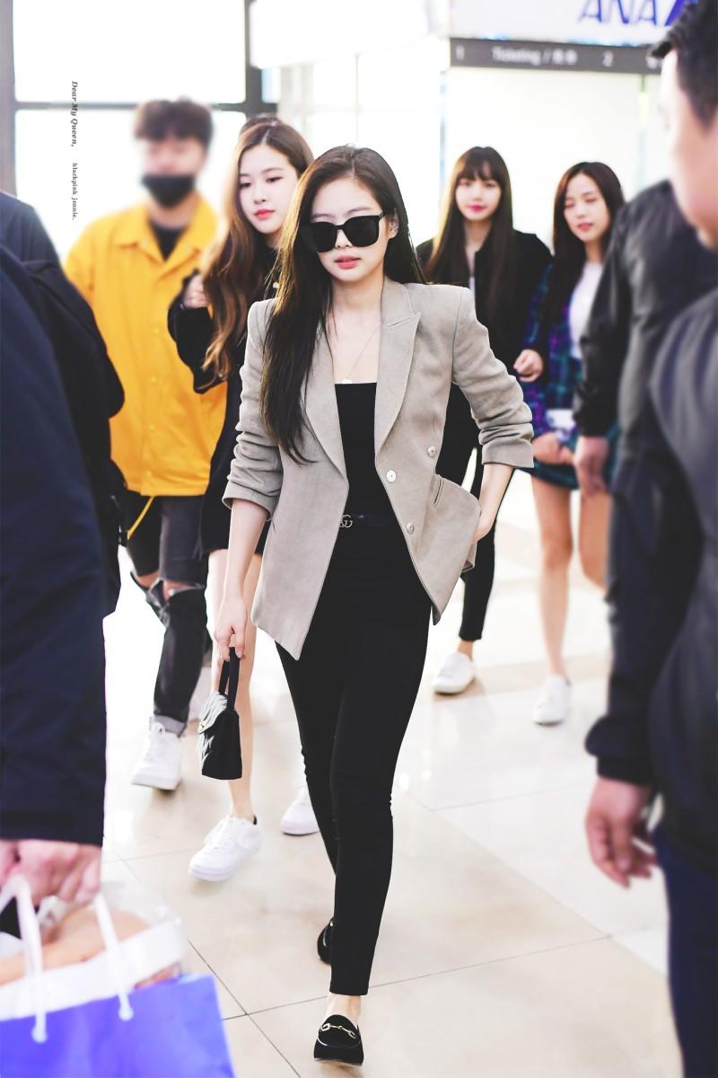 áo khoác mùa Thu Jennie Kim 3