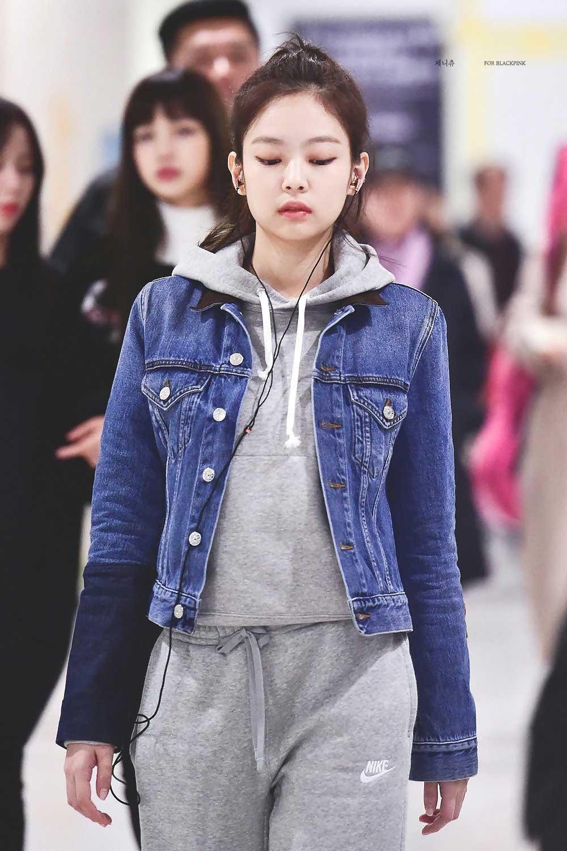 áo khoác mùa Thu Jennie Kim 8