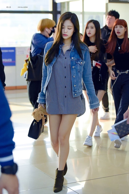 áo khoác mùa Thu Jennie Kim 9