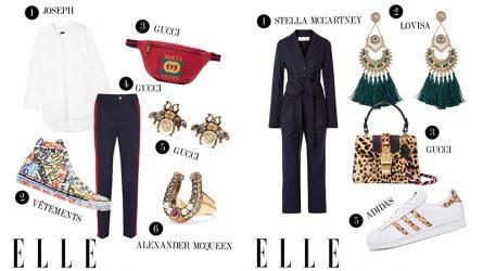ELLE Style Calendar: Phối giày sneakers linh hoạt từ đi làm đến tụ tập bạn bè (27/8 - 2/9)