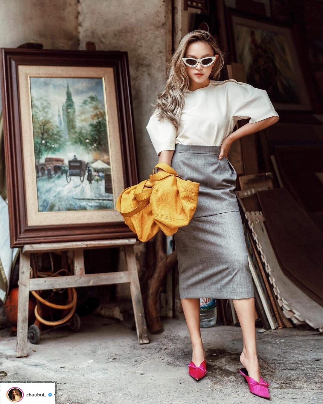 thời trang sao Việt tuần qua Châu Bùi phong cách