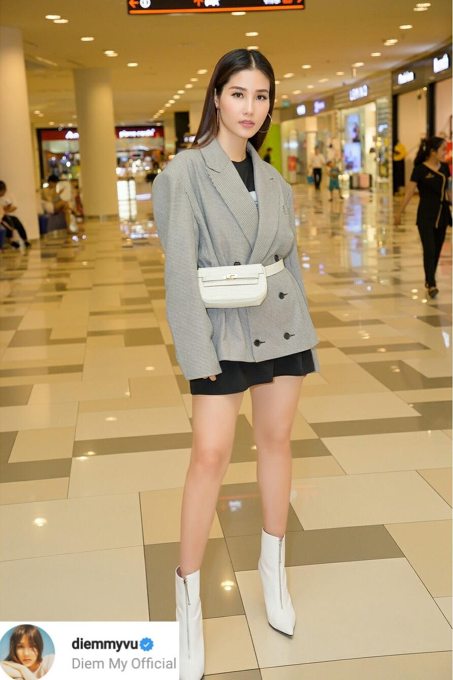 thời trang sao Việt tuần qua Diễm My trẻ trung