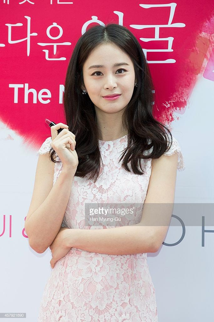 kiểu tóc dành cho mặt tròn_Kim Tae Hee