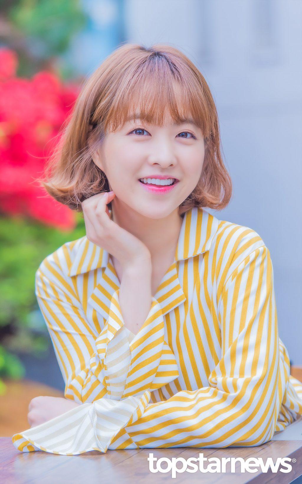 kiểu tóc dành cho mặt tròn_Park Bo Young2