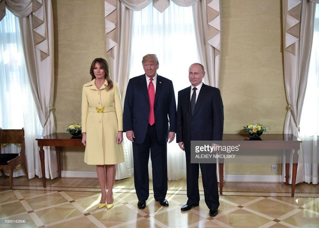 Đệ nhất phu nhân Mỹ Melania Trump 9