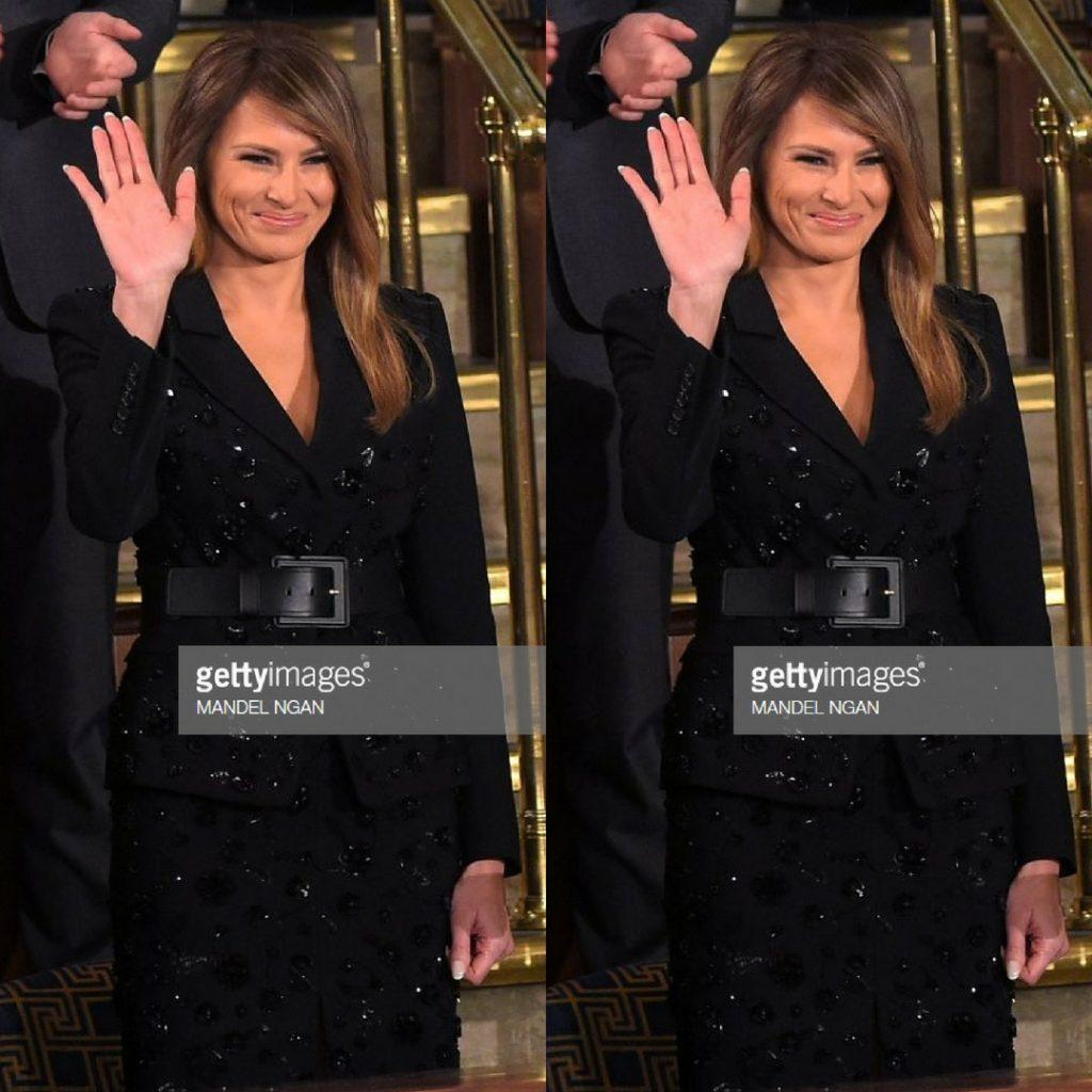 Đệ nhất phu nhân Mỹ Melania Trump 5