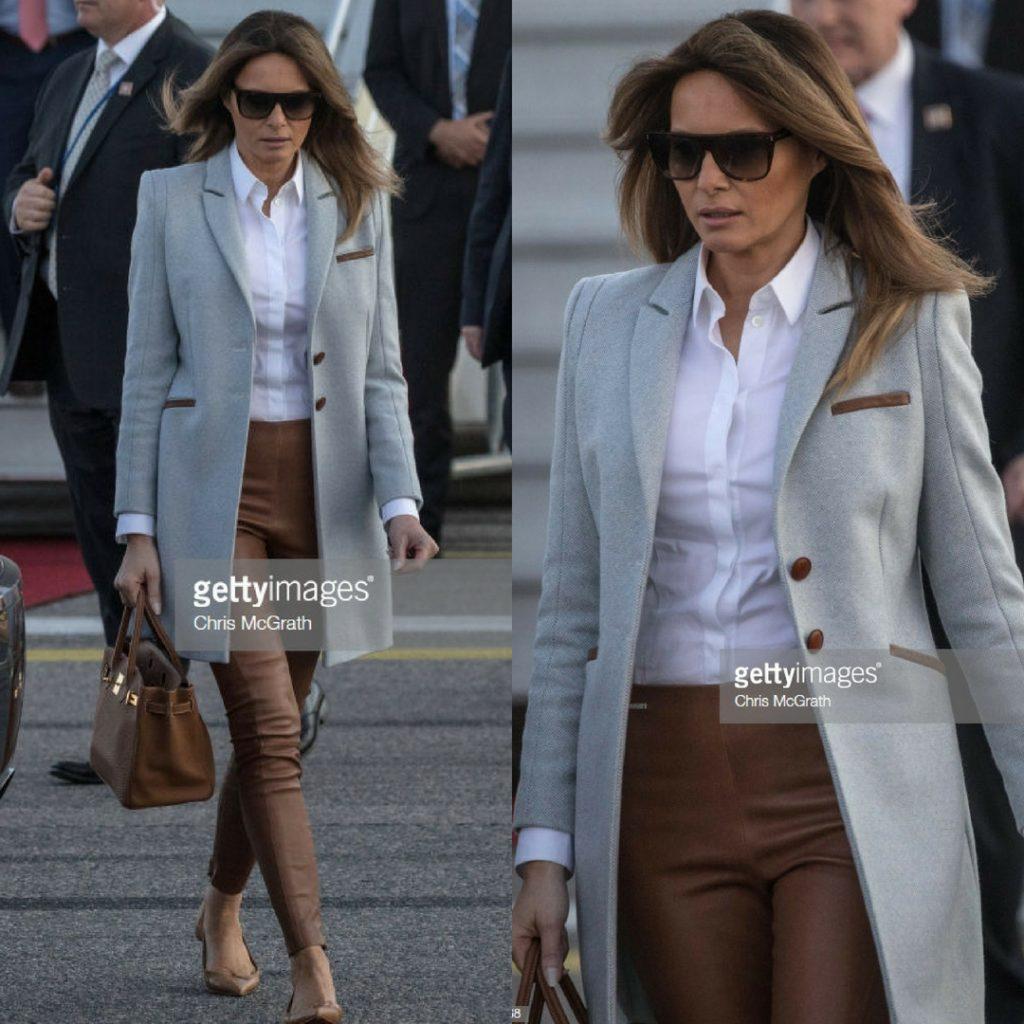 Đệ nhất phu nhân Mỹ Melania Trump 8