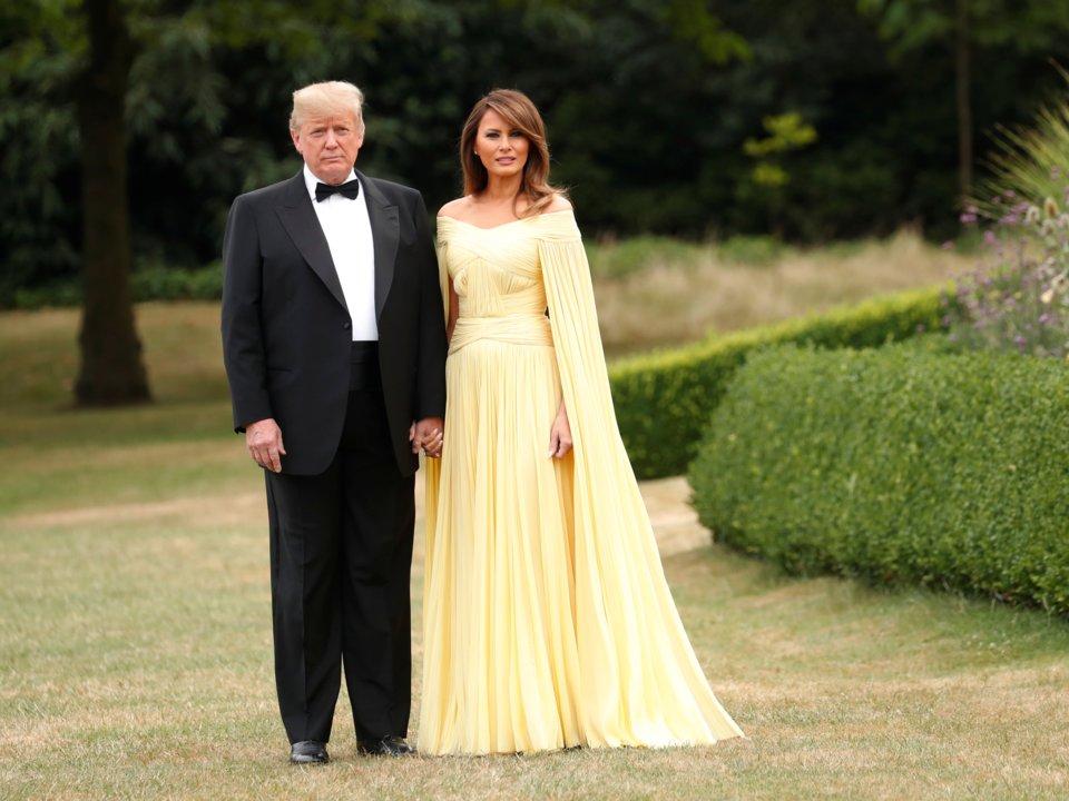 Đệ nhất phu nhân Mỹ Melania Trump 7