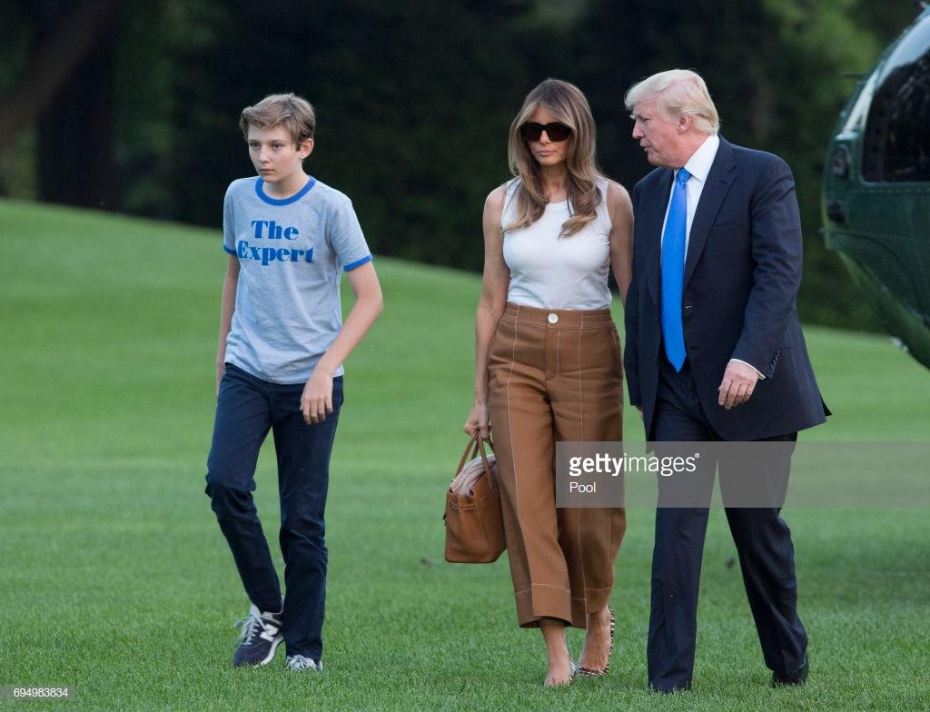Đệ nhất phu nhân Mỹ Melania Trump 4