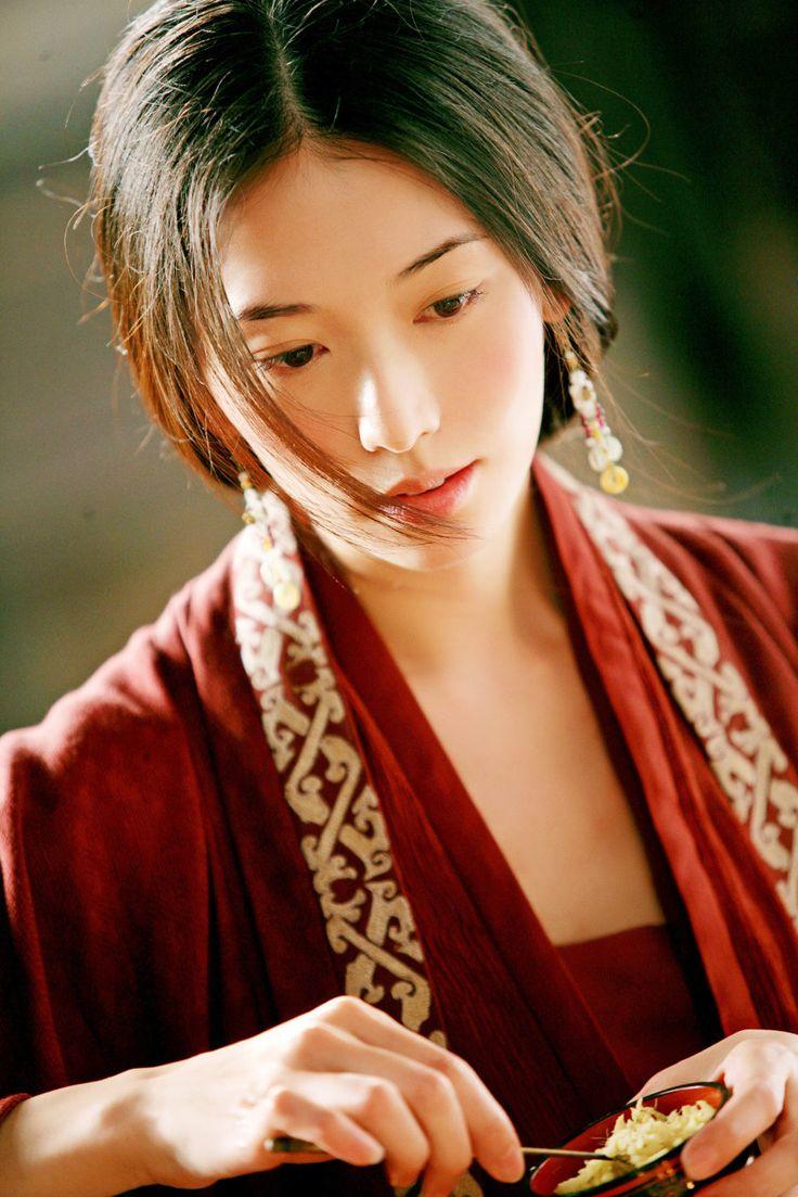mái tóc dài phụ nữ trung hoa 2