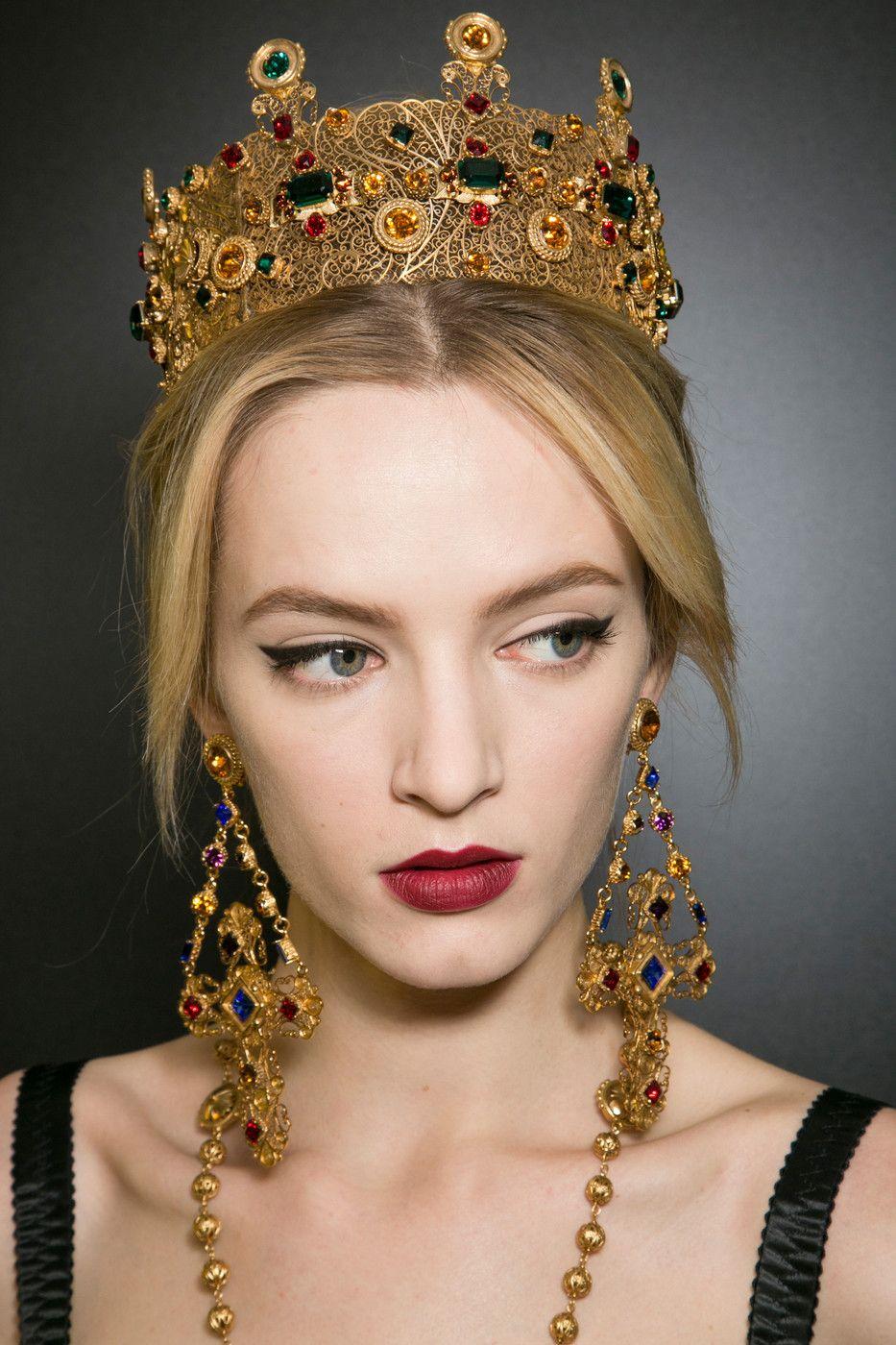 cách kẻ mắt_Dolce Gabbana Fall Winter 2013