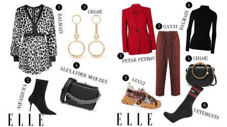 ELLE Style Calendar: Phối trang phục đón Thu ấn tượng cùng hoạ tiết da động vật (3/9 - 9/9)
