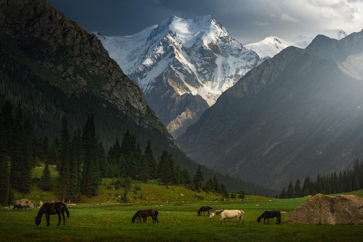 ELLE Việt Nam thiên nhiên Kyrgyzstan 1