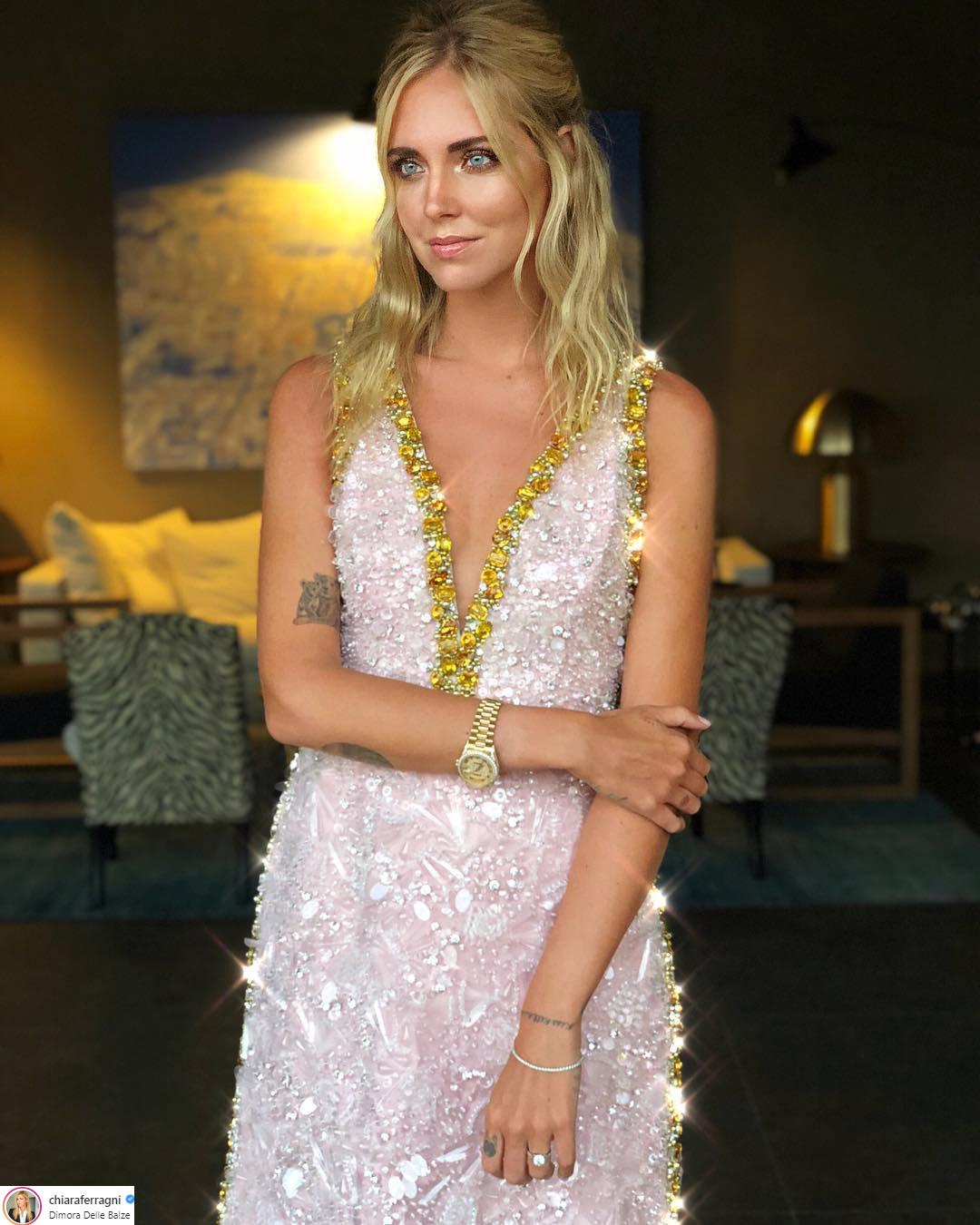 váy cưới của Chiara Ferragni 2