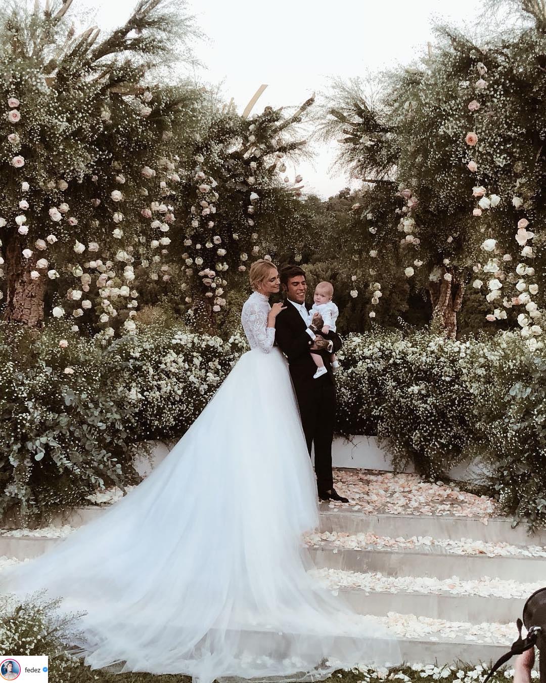 váy cưới của Chiara Ferragni 3