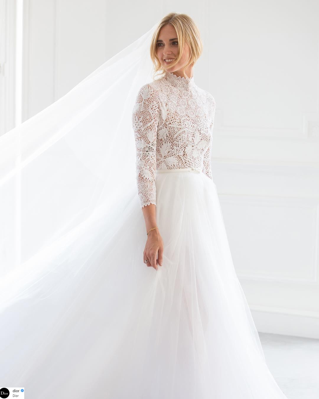 váy cưới của Chiara Ferragni 4